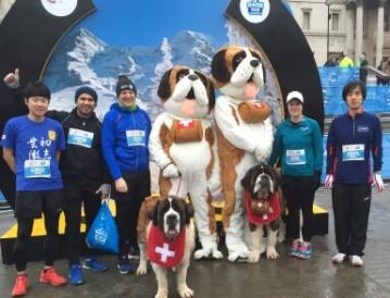 Hugo and Grace 2016 winter run London